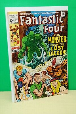 Fantastic Four #97 (1970)  Marvel Key Issue  Bronze Age Jack Kirby