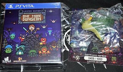 One More Dungeon PSVita Limited Edition  --->NO GAME<--- just goodies