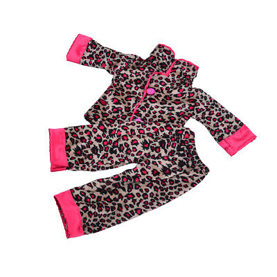 PJS Pajamas Sleepwear for  18 inch Doll Clothes