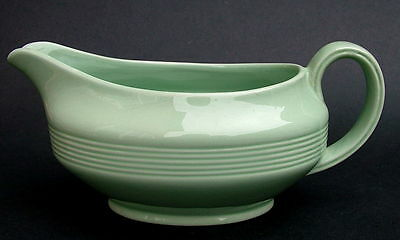 1960's Woods Green Beryl Pattern Gravy or Sauce Boat Only 19cm VGC