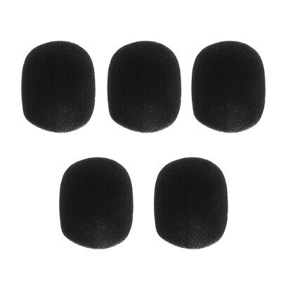 5pcs Microphone Windscreen Foam Cover Pop Filter for Handheld Stage Mic
