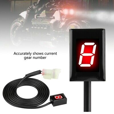 6 Speed Motorcycle Led Gear Indicator For Kawasaki Zx 6r Ninja 250