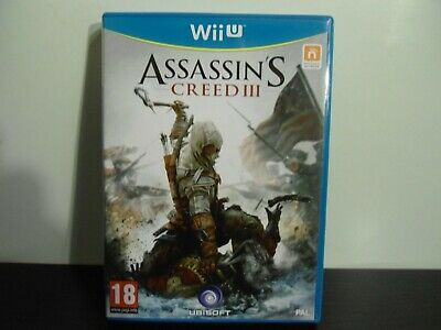 Wii U : Assassin's Creed 3 - PAL complet.