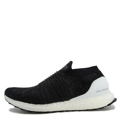 huge selection of 12000 c3ba9 Adidas Ultraboost Laceless  BB6140  Men Running Shoes Black Cloud White