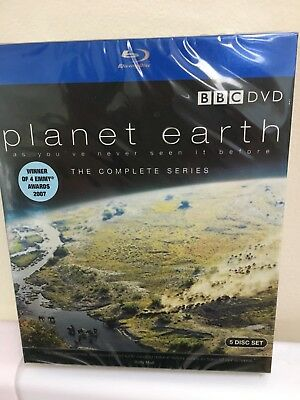 New Sealed Planet Earth: Complete BBC Series [Blu-ray] DVD David Attenborough