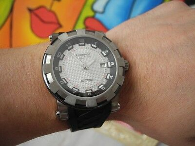 ROBERGE PAVO SPORT TITANIUM CERAMIC DATE 46mm LIMITED EDITION AUTOMATIC WATCH