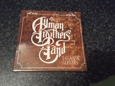 Allman Brothers Band 5 Classic Cd Albums Box Set New And Sealed