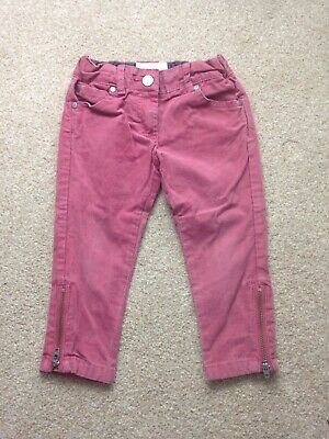Stella McCartney Girls Cotton Corduroy Trousers Age 2 Years RRP £65