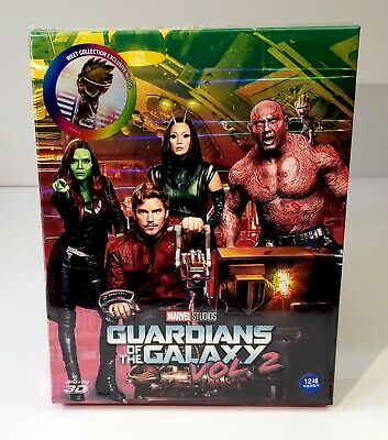 GUARDIANS OF THE GALAXY VOL. 2  [3D+2D] Blu-ray STEELBOOK  WeET COLLECTION FS A1
