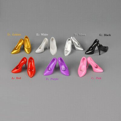 1/6 Scale Female High Heels Shoes for 12'' PH Phicen HT Hot Toys Action Figures