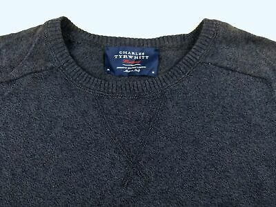 01fc63100cfe5a J245 CHARLES TYRWHITT Italy made subtle knit jumper sweater M, excellent  cond!