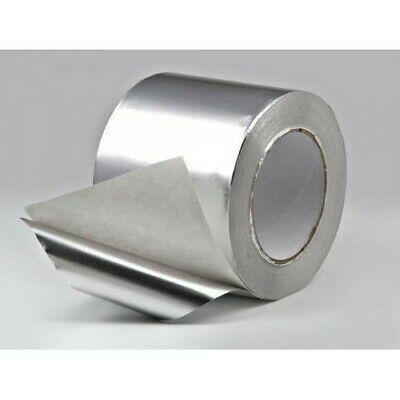 Proctor Self Adhesive Aluminium Foil Tape -100mm x 45m Heat Retardant