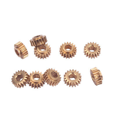 Copper 1:18 Ratio Tuning Peg Machine Head Tuner Gear for Guitar 30pcs/Pack