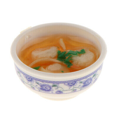 shrimps noodle Bowl Food 1//6 scale  Blythe DOLL Dollhouse Miniature JB