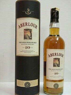 ABERLOUR 10 y.o. Highland - Single Malt Scotch Whisky - cl. 70  -40° Speyside OB