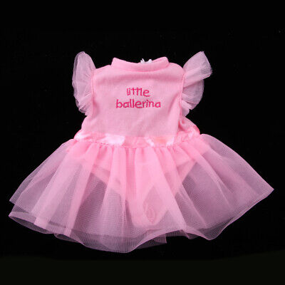 Pink Gauze Dress for 18inch AG American Doll My Life Journey Doll Dancing Skirt