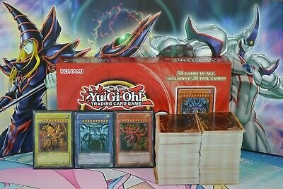 Yugioh 500 Card Collection Lot, & Egyptian Gods, Ra Obelisk Slifer, Deck Builder