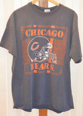 Vintage 80's Chicago Bears Men's XL T-Shirt Rare Design Cool Distressed NFL