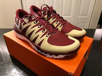 finest selection 55fc5 162ce NIKE FREE TRAINER 5.0 V6 AMP FSU Florida State Seminoles ...