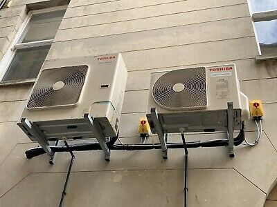 2 x Toshiba Air Conditioning Ceiling Units + 2 External Cassettes.