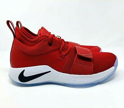 f28b54ea4e56 Nike Paul George PG 2.5 Gym Red Fresno State Bulldogs BQ8452-600 Men s Size  10.5