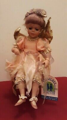 Nama Treasure Forever Porcelain Doll Fairy Chair Signed & Numbered 306/1500   ✞