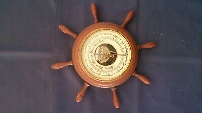 Vintage Collectable Barometer Western Germany 19CM Diameter