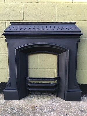 Large   cast iron fireplace Fully Restored £450.00