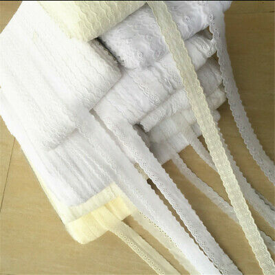 1/2Yard DIY Lace Tassel Embroidered Trim Fringe Wedding Dress Lace Ribbon Sewing