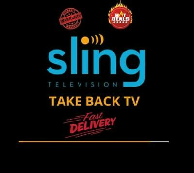 ⭐ Sling Tv Orange And Blue ⭐ Year Subscriptio |Fast Delivery| ✅