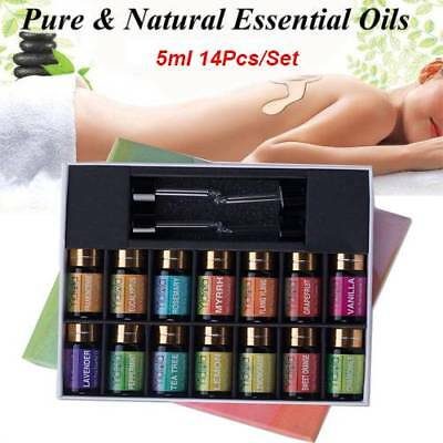 14Pcs/set Pure Organic Essential Oil Aromatherapy For Humidifier Aroma Diffuser