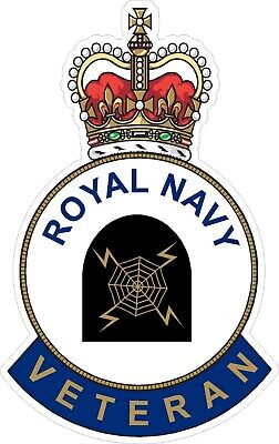 Royal Navy Radar Branch Veteran Sticker - Uk - Cars - Vans - Laptops