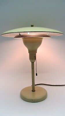 M.G. Wheeler Greenwich Sightlight Pilzlampe Mid Century Mushroom atomic '40er