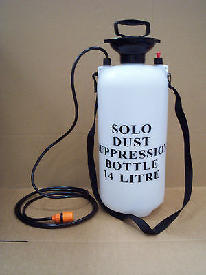 Dust Suppression Water Bottle 14 Litres From Solo Sprayers