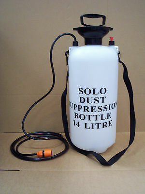 Solo Dust Supression 14L Water Bottle, Economical High Quality, Pump, Hose,