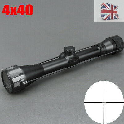 Tactical Optic Scope Sight 4x40 Shockproof Telescopic For Airsoft Airgun Hunting