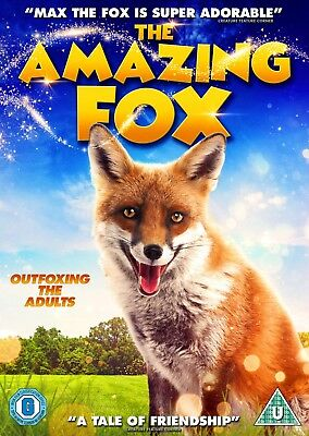 The Amazing Fox (Dvd) (New) (Family) (Released 13Th August) (Free Postage)