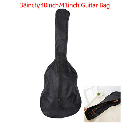 38/40/41 Inch Oxford Fabric Guitar Case Gig Bag Double Straps Padded 0.20 inch M