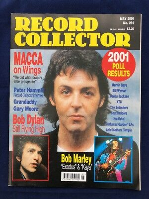 Record Collector - May 2001 - Paul Macartney - Bob Dylan - Bob Marley