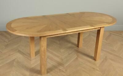 Townhouse Oval Oak Extending Dining Table 150 180cm