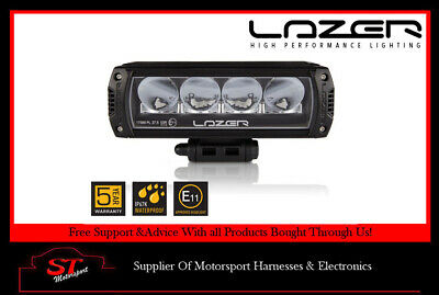 Lazer Lamps Triple-R 750 LED Long Range Spot Lamp (Black/Titanium)
