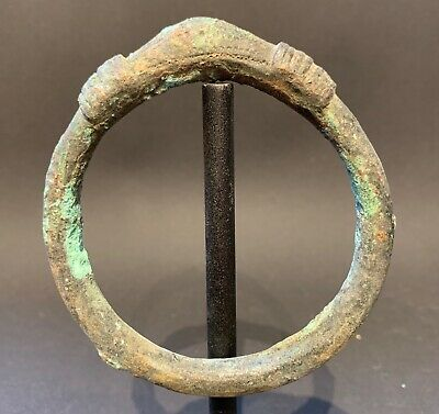Celtic Cast Bronze Bracelet 700 BC - 200 AD