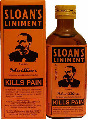 Sloan's Liniment Original Pain Relief For Muscle Pain, Sprains, Arthritis  70ml