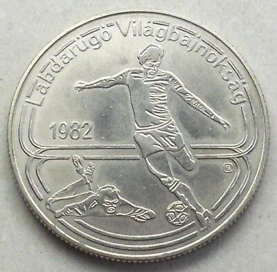 HUNGARY 100 Forint coin * 1982 * World Cup (M8K40)