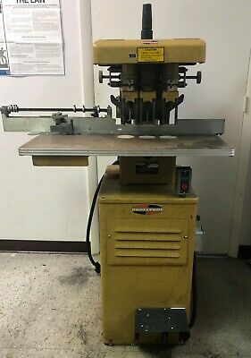 Challenge EH-3A, 3 hole drill, floor model, (yellow) Very Good Condition