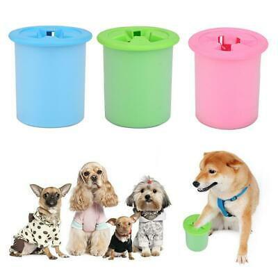 Pet Dogs Foot Clean Soft Cup Plastic Washing Brush Paw Washer Pets Cleaning Tool
