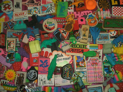 RARE VINTAGE 1980s HUGE 175+ COLLECTION ERASERS RUBBERS