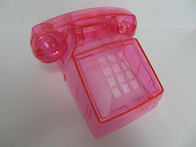 Western Electric telephone Model  2500 body clear pink New Antique telephone