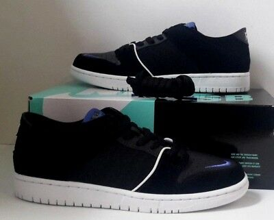 NIKE SB DUNK Basse Qs Soulland Fri Day Bianco Nero S 9.5
