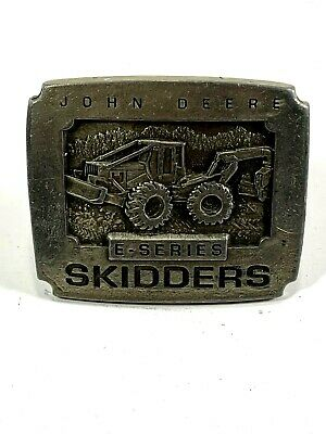John Deere E-Series Skidders Belt Buckle 1994 Limited Edition Made in the USA